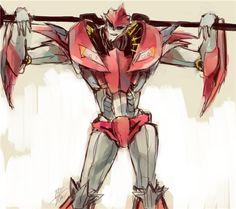 ♡ On Pinterest @ kitkatlovekesha ♡ ♡ Pin: TV Show ~ Transformers Prime ~ Knock Out ♡