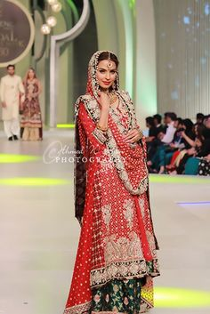 Mona Imran Latest Collection In Pantene Bridal Couture Week 2013 (7)