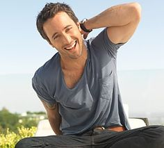 """Alex O'Loughlin.  Just saw """"The Back Up Plan."""" It was so bad but he was just so cute!"""