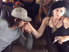 Norman Reedus and Melissa McBride