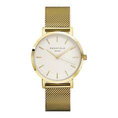 Rosefield The Mercer White Gold horloge MWG-M41