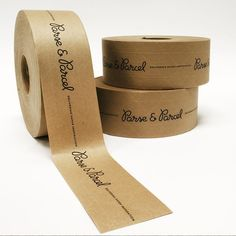 Custom packing tape!