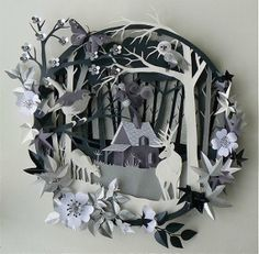 Helen Musselwhite Papercraft Dioramas, beautiful!