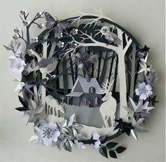 Helen Musselwhite Papercraft Dioramas, beautiful!
