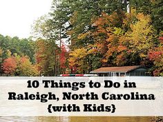 10 Things to Do In Raleigh, NC {with Kids}. You don't have to go far!  Want to see more creative #Pinspiration ideas for your #DreamHome? Take a peek at #brightleafrtp or www.brightleafatthepark.com!