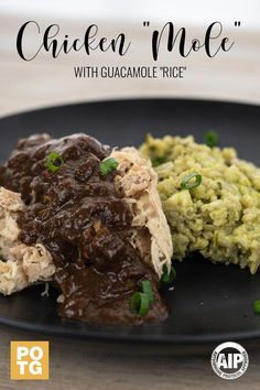 Our AIP friendly Chicken Mole is perfectly paired with our new Guacamole Rice. Our executive Chef Ann Lotterhos worked diligently to recreate this traditional sauce with strictly AIP ingredients! Paleo Recipes, Real Food Recipes, Paleo Meals, Skin Moles, Chicken Cauliflower, Paleo On The Go, Inflammatory Foods, Executive Chef, Food Items