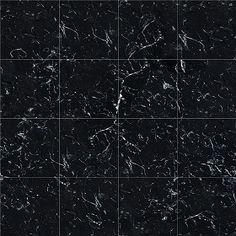 Textures Texture seamless | Marquina black marble tile texture seamless 14132 | Textures - ARCHITECTURE - TILES INTERIOR - Marble tiles - Black | Sketchuptexture