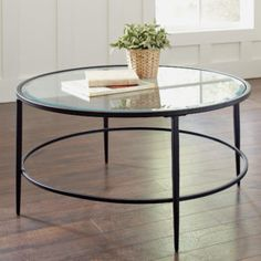 24 Glass Side Table