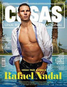 1 Rafael Nadal graces the cover of Cosas Peru magazine! Tennis Rafael Nadal, Nadal Tennis, Tennis Funny, Le Tennis, Tennis Humor, Tennis Serve, Rafa Nadal, Cover Boy, Tennis Fashion