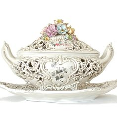 antique tureen | Antique Italian Soup Tureen