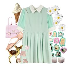 """""""sugarlump"""" by starg1rl ❤ liked on Polyvore featuring Topshop"""