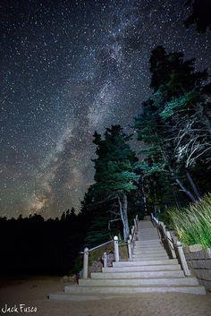 Starry Stairway by Jack Fusco, via Flickr