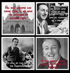 Walt Disney Inspirational Quote Coaster Set