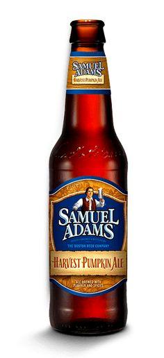 3. Samuel Adams Harvest Pumpkin Ale