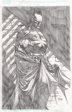 Batman, David Finch  I love that this is on Marvel board.