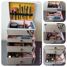 DIY avec les box MLB : My little box à maquillage # the end - Les idées folles by maora