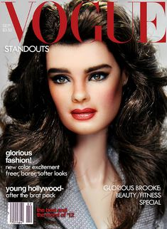Brooke on VOGUE by FarrahF, via Flickr
