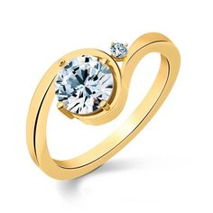 Promise Solitaire Ring - simply woww