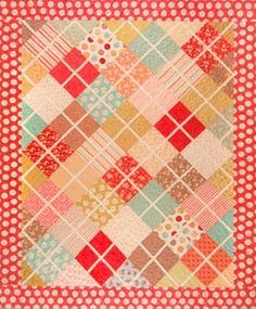 Crossing Paths Quilt Pattern