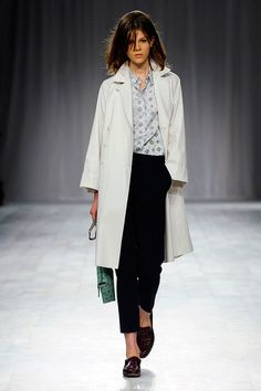 Paul Smith Ss12| Fly white coat n loafers