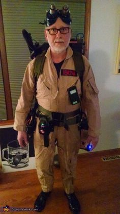 Jim: Project Ghosthead In 2011 a co-worker decided to be a Ghostbuster for Halloween. He had one of those inflatable Proton Packs that he had bought online. Being a lifelong tinkerer,...