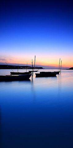 Blue {Portugal Sunset}