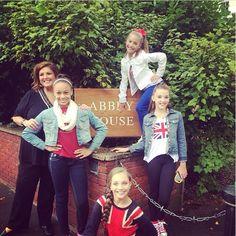 Maddie Ziegler, Mackenzie Ziegler, Kendall Vertes, Abby Lee Miller and Nia Frazier Europe Tour