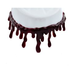 Dysfunctional Doll Thick Blood Drip Choker Necklace Special Effects : Chokers