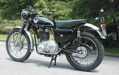 Old and Classic Motorbike History, Matchless G80 CS