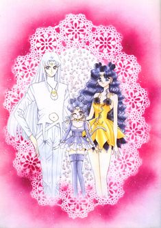 Day 21: Not sure what this sentence means, so I'm going to interpret it as something the manga has that the anime didn't - Artemis and Diana's human forms.