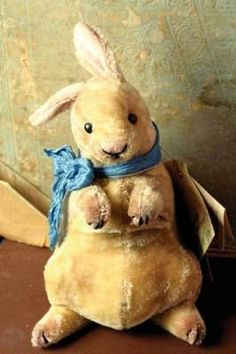 "Velveteen Rabbit, anyone? So adorable. ""o)"