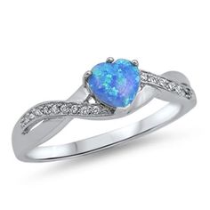 Sterling Silver Plated CZ Radiant Cut Aquamarine Fashion Promise Ring Sz 5-10
