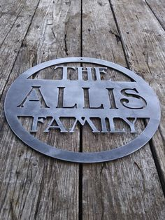 Custom Metal Decorative Signs Magnificent Customizable Metal Name Sign Cnc Metal Cncccrcustommetals Ccr Design Decoration