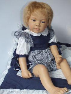 Gotz panenka YULE Elisabeth Lindner-1998-Gotz-Doll poupée-Kunstlerpuppe