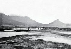 Cape town history - Salt River Mouth, near today's Paarden Eiland Old Pictures, Old Photos, Vintage Photos, Places To Travel, Places To Go, River Mouth, Cape Town South Africa, Woodstock, Beautiful Places