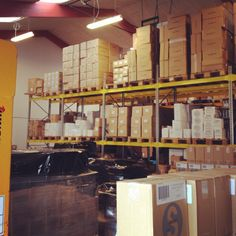 This is a part of our warehouse. We have a lot of things going on at the moment, so keep up to date people.  Have a NiceDay.