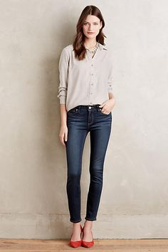 Paige Verdugo Ankle Skinny Petite Jeans - anthropologie.com