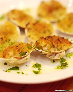 This recipe for clams oreganata is from Sal Scognamillo of Patsy's ...