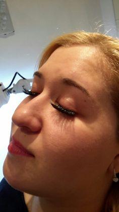 Cluster Eye Lash Extensions