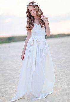 Wedding dresses Beach wedding dresses boho by VICTORIASPIRINA