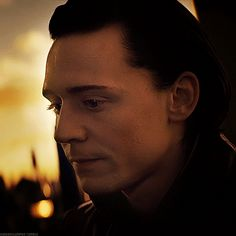 imagine loki has done something very bad and/or evil and is waiting for your reaction and is scared you'll leave him because he loves you (for anonymous) (not my gif; i know it is worded a little...<<<He looks so cute in this gif awww *-*