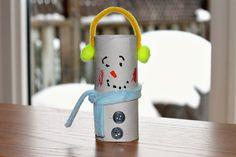 Keepin' 2 Boys Busy: Toilet Paper Roll Snowman