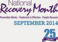 National Recovery Month 2014 Activities and Program Visits | NAMA Recovery of Tennessee