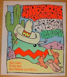 2004 The Supersuckers - Silkscreen Concert Poster by Frank Kozik