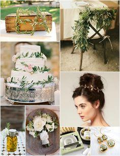Olive  Wedding inspiration
