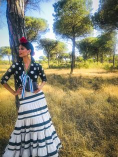 Gypsy Caravan, Dresses, Fashion, Tela, Vestidos, Flamenco Dresses, Flared Skirt, Urban Swag, Polka Dots