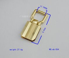 (10 PCS/lot) zinc alloy die casting is not rust straps link arm in arm buckle bags handbags hardware accessorie-in Bag Parts & Accessories from Luggage & Bags on Aliexpress.com | Alibaba Group