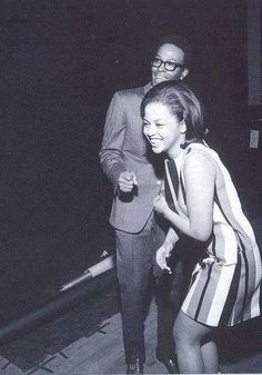 Marvin Gaye and Tammie Terrell