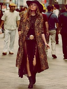 Free People Long Winded Tapestry Coat - I need this like a hole in the head, but wow - what a neat piece