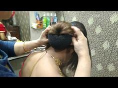 New Bridal Hairstyle For Long Hair. New Bridal Hairstyle, Bridal Hair Buns, Prom Hair Updo, Indian Bridal Hairstyles, Simple Wedding Hairstyles, Bridal Hair And Makeup, Easy Everyday Hairstyles, Easy Bun Hairstyles, Crown Hairstyles